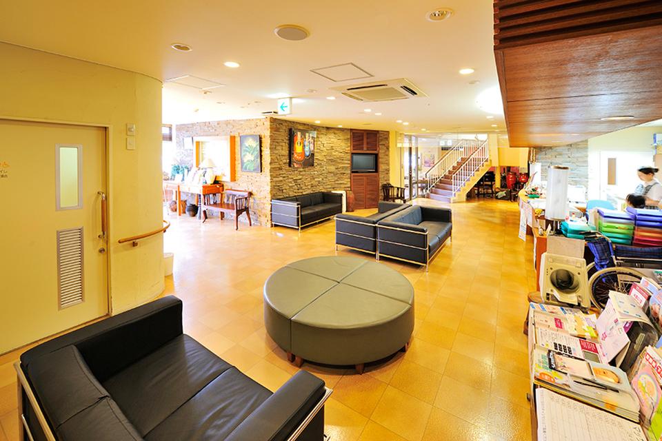 山崎リゾートクリニック 受付・待合室