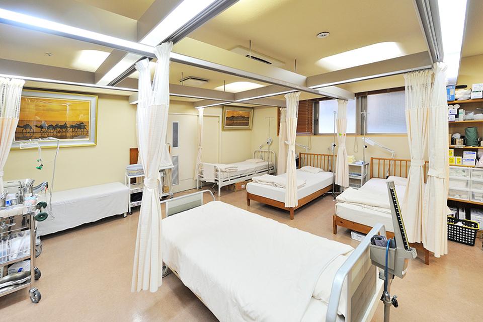 山崎リゾートクリニック 処置室